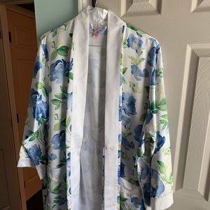 Other - Floral Satin Bridal Robe